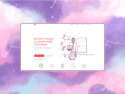 Saas platform which put in relation brands and influencers.