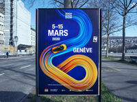 4.08% of Zurich vehicles are electric. minimal vector e-cars animation app ui typography illustration cinema4d unity futuristic data visualization art design 3d