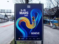 3.19% of Bern vehicles are electric. gradient unity3d cinema4d typography future 3d poster advertising art design app illustration web ui vector animation