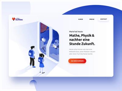 School 2049 - Webdesign