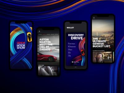 Geneva International Motor Show - Appstore Screens