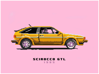 My scirocco from 1985