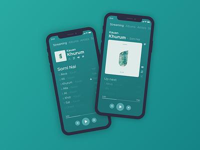 Xbox Music Modern UI Redesign microsoft xbox ui design experience interface user icon web ui ux app minimal flat design