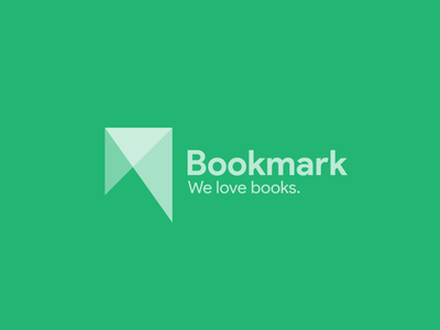 Logo Design for Bookmark branding icon logodesign monogra logotype logo design logo minimal flat design