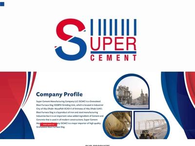 Web design for UAE based industrial client