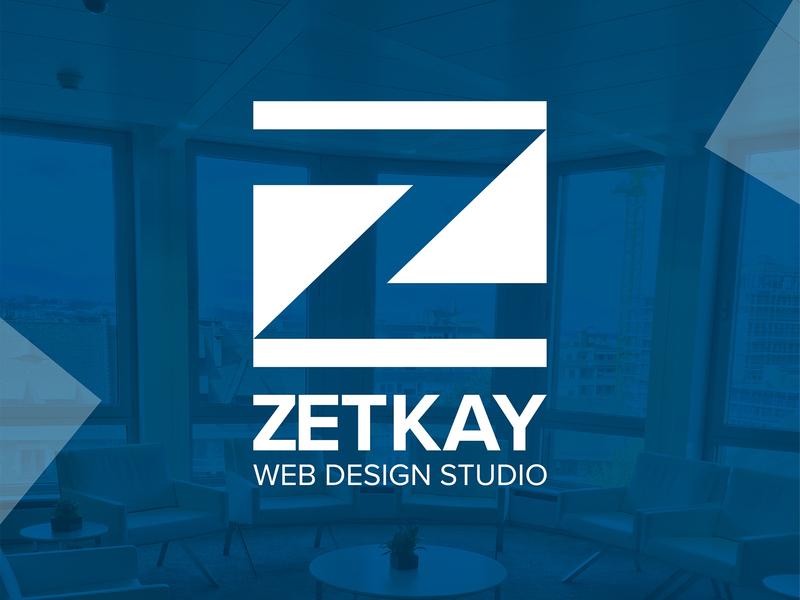ZETKAY LOGO DESIGN studio webdesign website brand identity brand design illustrator photoshop graphic design logo logo design