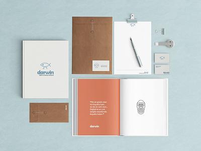 darwin brand identity design branding and identity branding concept branding agency branding design branding logo design