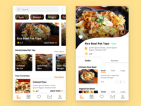 Food Delivery - UI Exploration