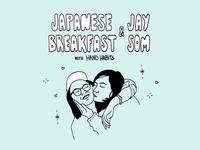 Japanese Breakfast + Jay Som Tour Artwork