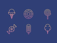Sweet Icon Set Pt. 1