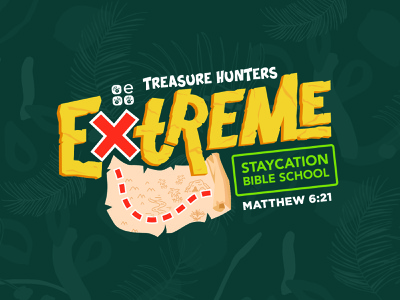 Extreme VBS Logo and Event Materials motion graphic motion design event branding brand identity kids illustration church marketing church design custom lettering custom type logo illustration art branding typography