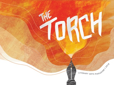 The Torch Literary Arts Magazine Illustration