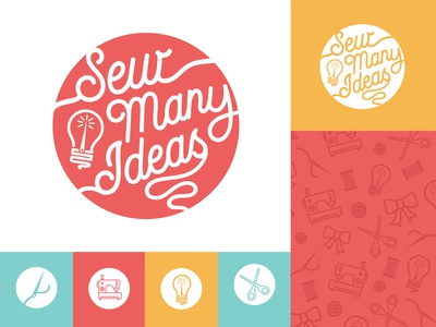 Sew Many Ideas Logo