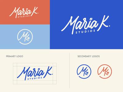 Brand Guide - Maria K. Studios