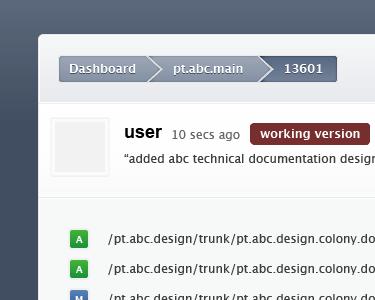 Illustrator, SVN Commit View breadcrumbs navigation svn commit versions illustrator