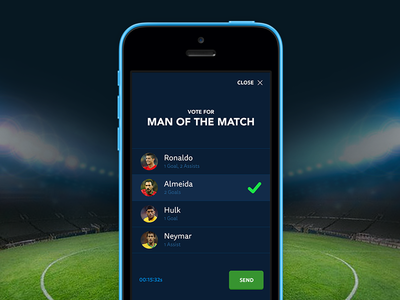 World Cup - Man of the Match world cup football soccer portugal brasil man of the match poll interactive brazil