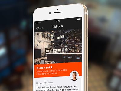 KingsX iphone review restaurants london kings cross the app business simple