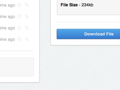 List of Files css3 list download button download files texture