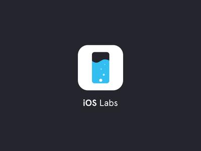 iOS Labs iphone side project mark liquid labs ios logo icon
