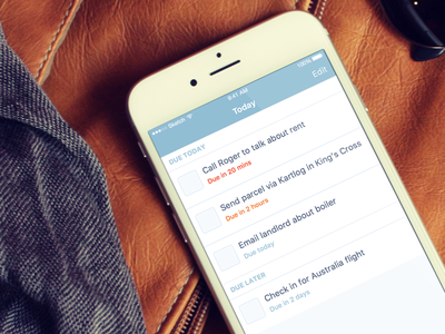 Skillshare To-Do App skillshare to-do soft pastel today tasks lists due todo