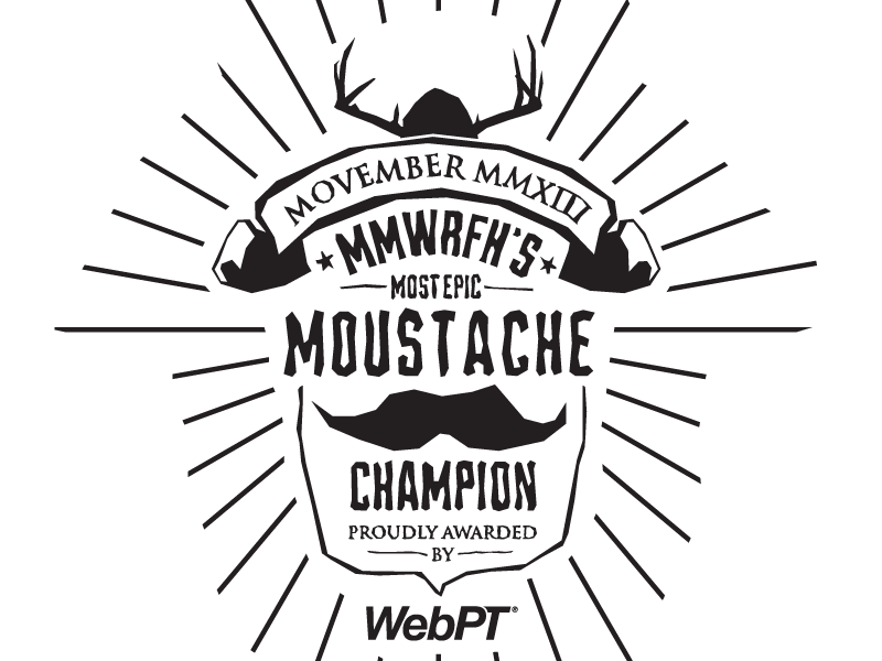 Movember plaque