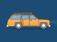 Marge Simpson's Station Wagon