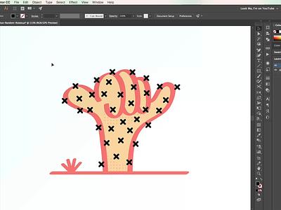 Random_Rotate.js vector random rotate illustrator javascript medium freebie free download