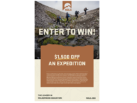 Enter to Win Poster
