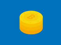 Bitcoin Cryptocurrency Illustration