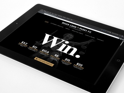 Rosen Louik & Perry - Website Design