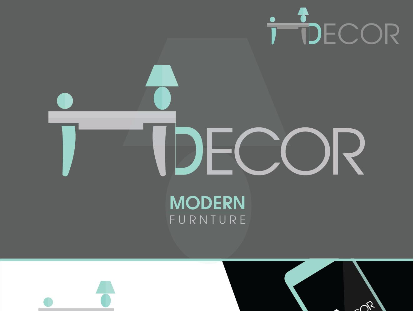 Idecor lettering illustrator identity branding design logo illustration