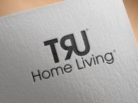 Tru Logo Mockup Psd On Textured Paper