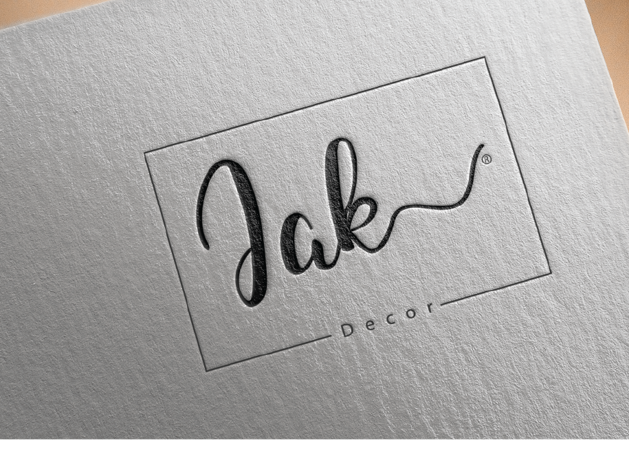 Jak lettering type clean identity typography branding illustration
