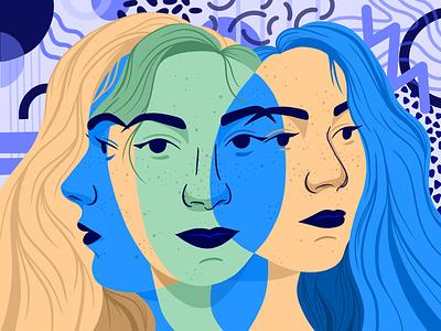 Gaia digitalart illustration