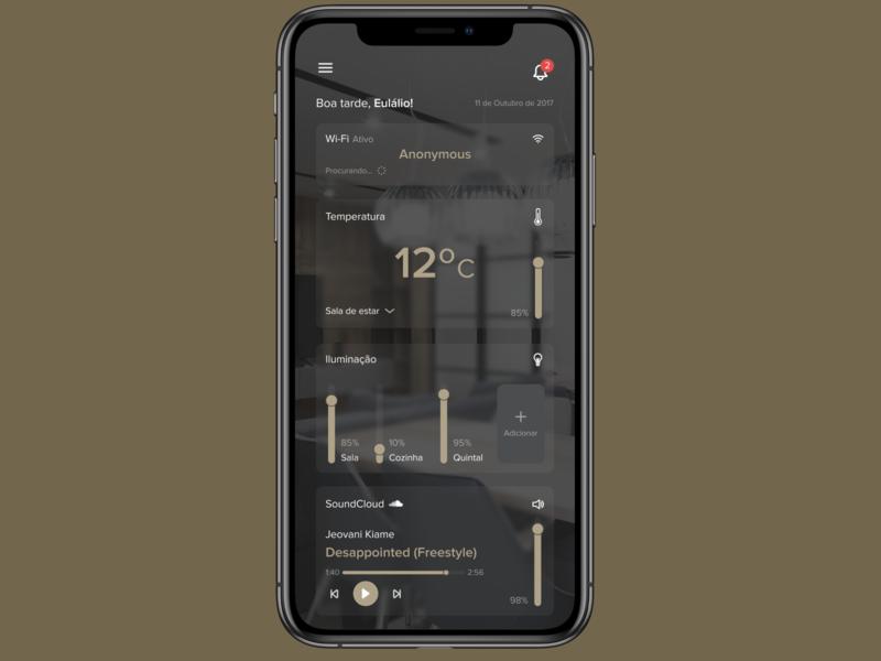 Dailyui 021 - Home Monitoring Dashboard home monitoring dashboard 021 design dailyui ui
