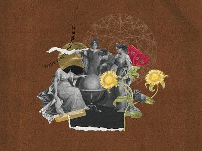 Un nuevo mundo se acerca illustration collage digital colagem digital graphic  design digital collage collage art design collage colagem