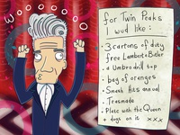 David Lynch's Negotiation Demand List For Twin Peaks 2016