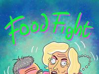 Bake off food fight illustration by ed clews 600