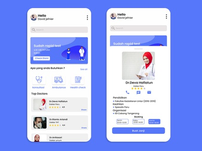 Medical aplication designui app ui ux web web ux app