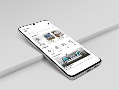 Mockup Design Aplication furniture designui app ui ux web web ux ui app
