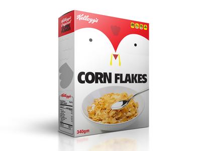 Kellogs Corn Flakes Redesign