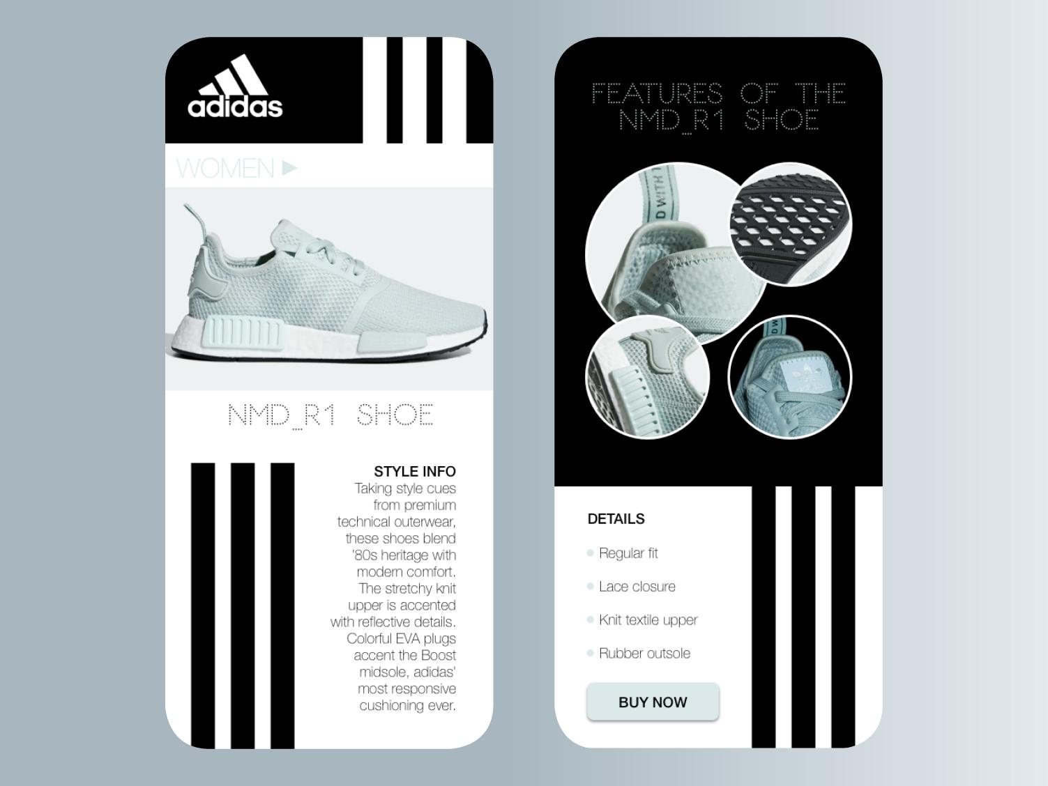 Adidas Sneaker Shopping APP
