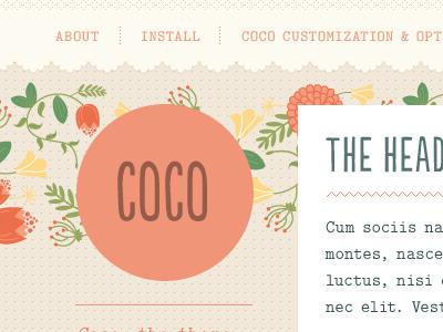 Coco: Tumblr Theme