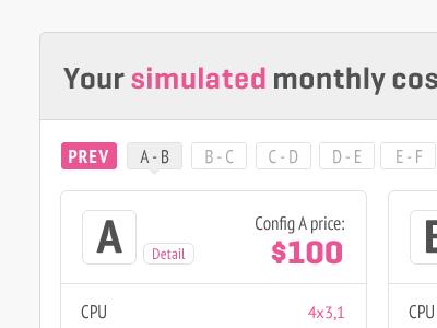 Pricing Table pricing geogrotesque pt sans pink ui user interface website design ui design