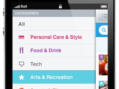 A Mobile Web Experience safari mobile helvetica slide android windows chrome mobile web mobile design
