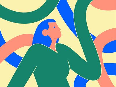 Shapes edgy flat glyph line logo color shape simple icon illustration