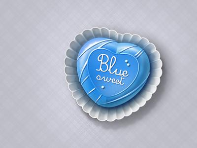 Blue sweet