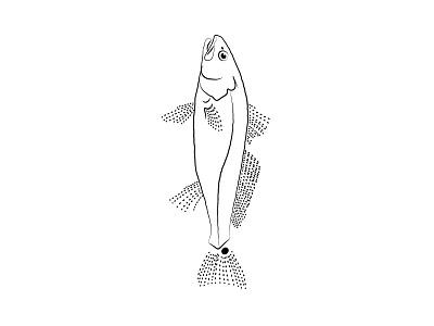 Charleston Fishing Trips Logo Mark design fishing brand redfish logo fish