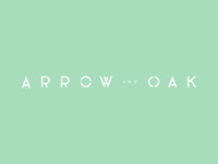 Arrow and Oak Logo Version 1b