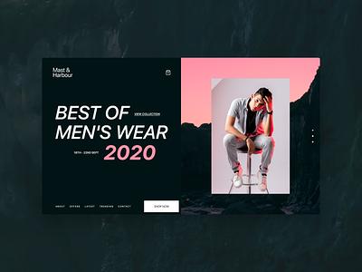 Modern e-commerce web design animation dribbble invite san francisco apple website design fashion menu shopping ecommerce web design typography branding ux design ui druhin clean flat minimal adobe xd